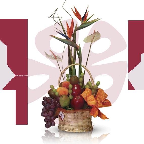Arreglo frutal para hombre, arreglo frutal sin chocolate, canastas de frutas, arreglos con flores y frutas
