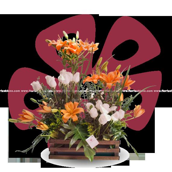 Lisboa - Arreglos florales cumbaya, Flores a domicilio cumbaya, Floristeria Quito, Floreria quito
