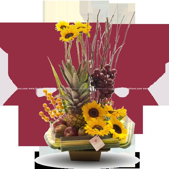 Arreglos frutales para hombre, arreglos frutales sin chocolate, canastas de frutas, arreglos con flores y frutas