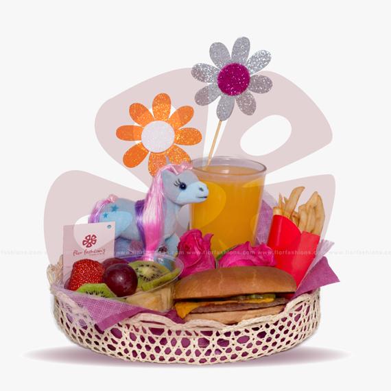 Pony - desayunos a domicilio Quito, Desayunos sorpresa, desayunos para cumpleaños, desayunos regalo, desayunos para niños a domicilio