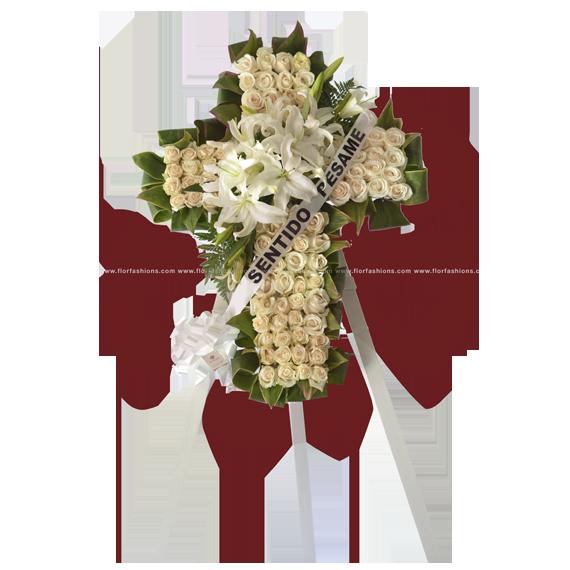Santa Cruz - Arreglos florales para condolencia, ofrenda de flores, Flores para sepelio, velacion