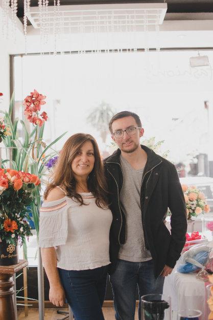Dueña y administrador de la floristeria flor fashions quito