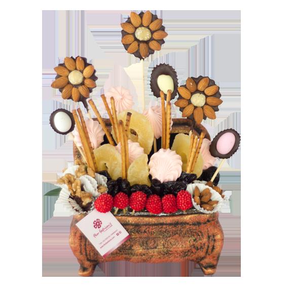 arreglos con frutos secos, arreglos de frutos secos en quito, regalos de frutos secos